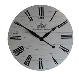36 Inches Oversized Loft Wooden Wall Clock