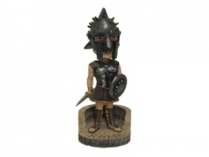 8 Resin Bobble Head Gladiator Figurine Souvenir