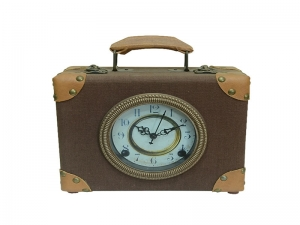 Vintage Decorative Wooden Desk Clock